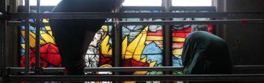 Straubing, St. Jakob, Mosesfenster von A. Dürer